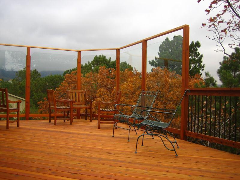 Deck Glass Walls Colorado Springs Decks By Schmillen