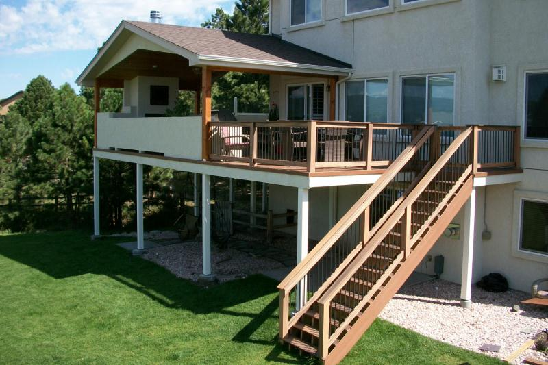 Deck Covers & Trellis | Colorado Springs | Decks By Schmillen