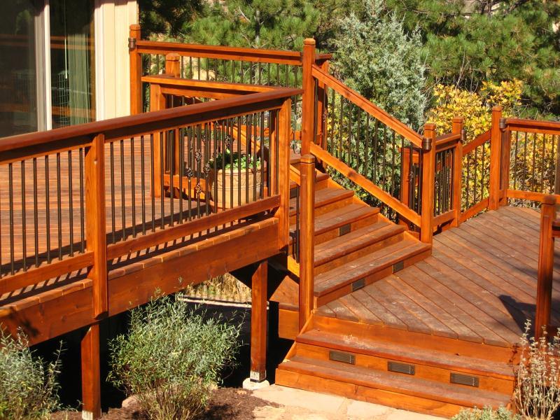 Wood Decks Colorado Springs Decks By Schmillen