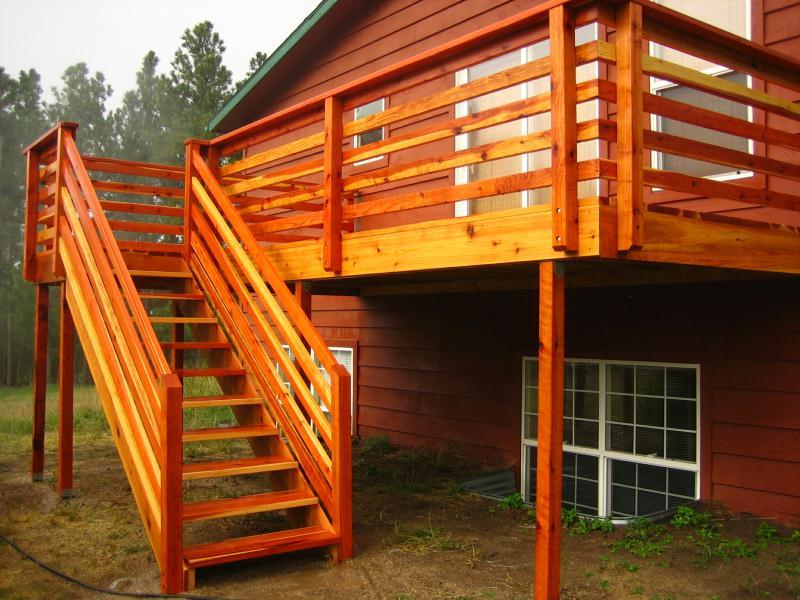 Deck Railings | Colorado Springs | Decks By Schmillen